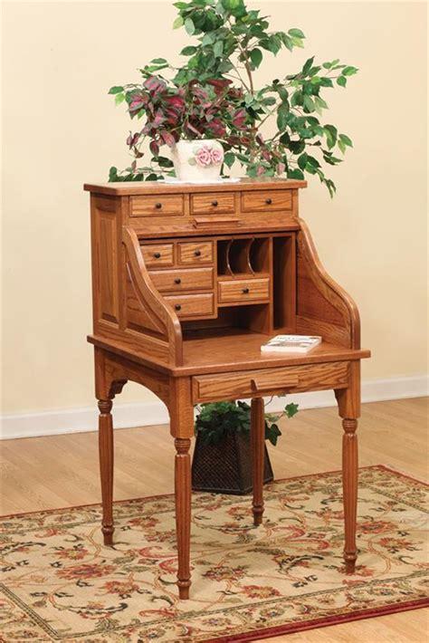 roll top secretary desk amish secretary roll top desk