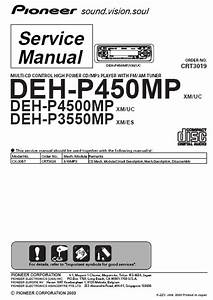 Pioneer Deh Mp3 Player Service Manual Pdf Download