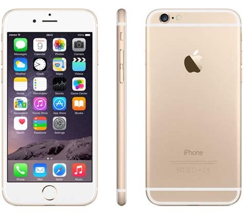 iphone 6 in gold buy apple iphone 6 128 gb gold free delivery currys