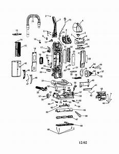 Hoover Windtunnel T Series Parts Diagram