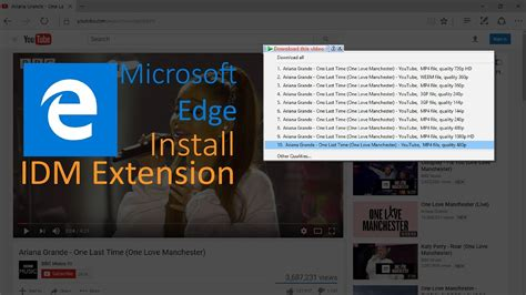 Looking to download safe free latest software › get more: How to add IDM extension in Microsoft edge Working 100% - YouTube