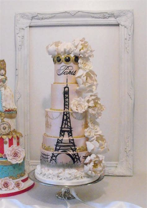 wedding  paris cake  dee cakesdecor