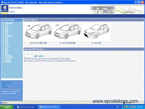 Peugeot Parts by Peugeot Service Box 2014 Parts And Service Manual