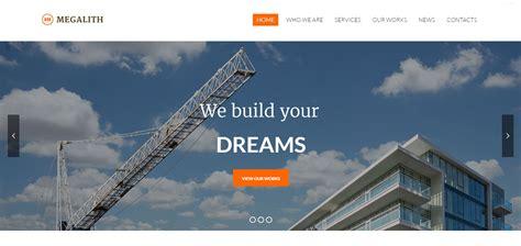wordpress themes  builders contractors