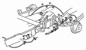 Dodge Ram 3500 Guide  Parking Brake Cable  Routing