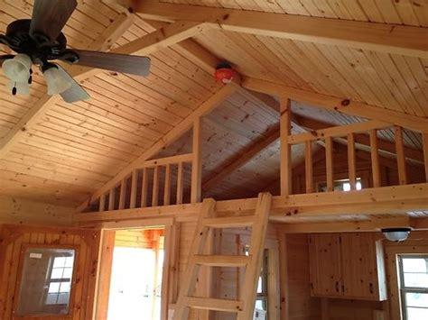 modular amish cabin move  ready true  seasons
