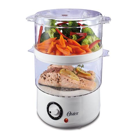 steamer cuisine oster tiered food steamer at oster com