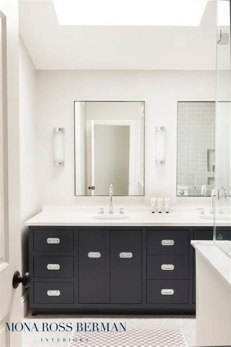 black bathroom mirrors design ideas