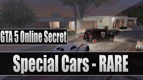 gta   secret special cars rare vehicle locations