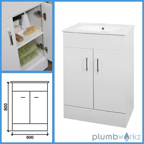 ebay kitchen cabinet bathroom furniture suite vanity unit cabinet toilet basin 3510