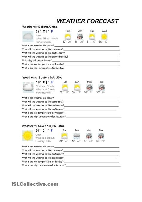 weather forecasts special education  predicting