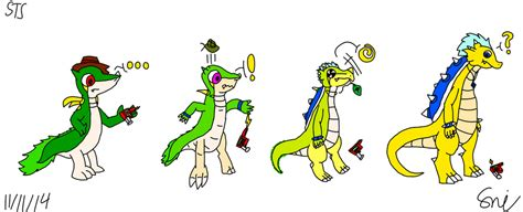 This looks like it will be a very fun gsme. Snivy H.D. TF into Kragon (redo) by Sniperian on DeviantArt