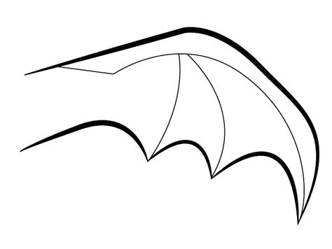 toilet paper roll bat wing template bat outline free download best on drawn wing printable