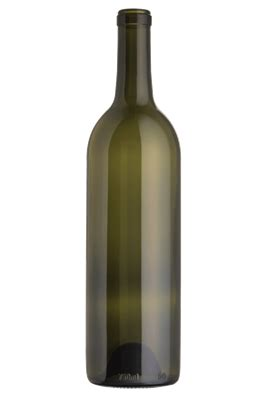 bordeaux green wine bottles