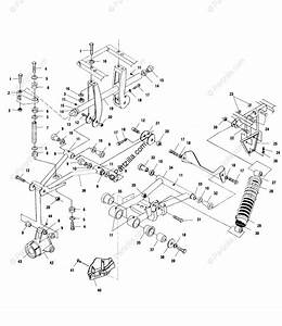 Polaris Atv 2002 Oem Parts Diagram For Rear Suspension All