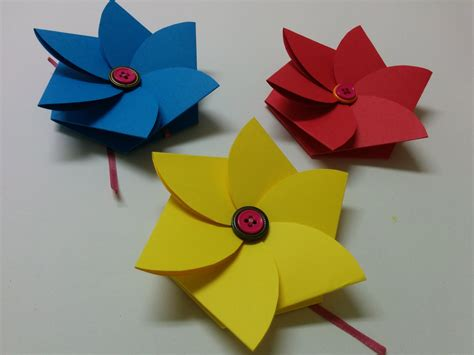 arts and crafts and craft how to make flower envelope s day