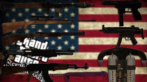 Pack De Armas Originales Hd (todas Las Armas