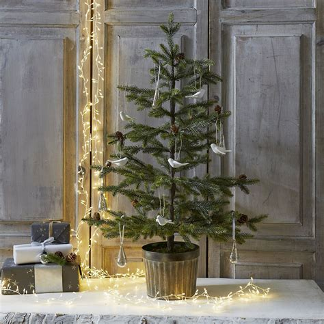 3ft real tree at lowes best artificial trees to light up the festive season ideal home