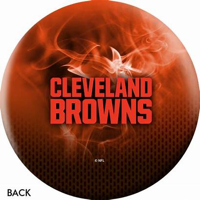 Browns Cleveland Fire Ball Bowling Nfl Otb
