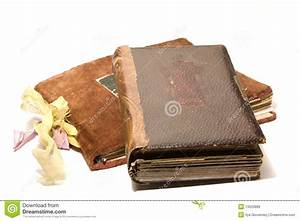 Two Old Photo Albums Royalty Free Stock Photos - Image