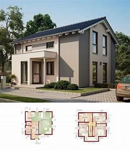Haus Bauen Ideen Grundriss : modernes haus solution124 v7 living haus einfamilienhaus ~ Orissabook.com Haus und Dekorationen
