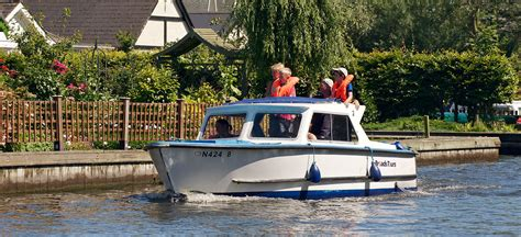 Boat Trip Norfolk Broads by Day Boat Hire Boat Trips Norfolk Broads Broads Tours