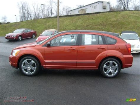 dodge caliber rt awd  sunburst orange pearl photo