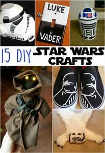 Star Wars Diy : 15 awesome diy star wars crafts the craftiest couple ~ Orissabook.com Haus und Dekorationen