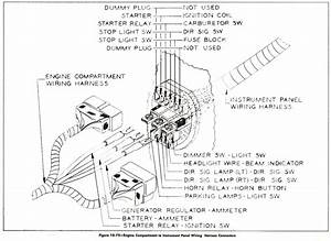 1957 Buick Wiring Diagram Engine Compartment To Instrument