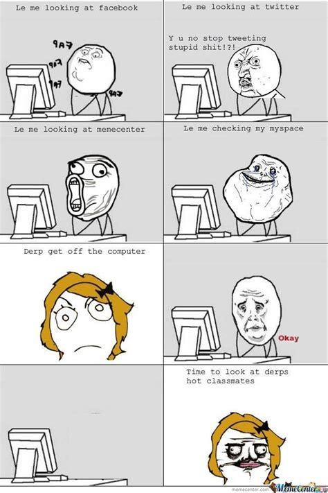 Le Me Meme - le computer true story by wreckter meme center