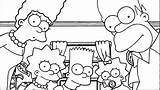 Simpsons Wecoloringpage Krusty sketch template