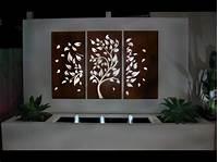outside wall decor Garden Wall Art # Fleur De Lis Outdoor Wall Decor - YouTube