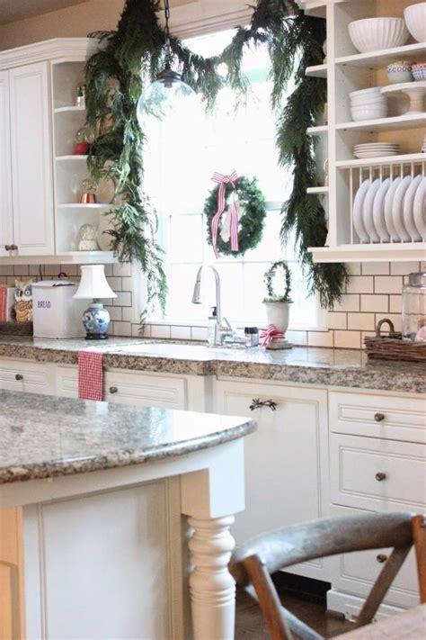 cuisine noel décoration noël de la cuisine un décor élégant pour les fêtes
