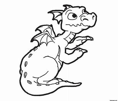 Coloring Pages Printable Dragon Boy Animal Boys