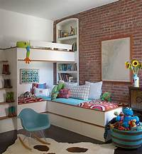 kids room design 25 Vivacious Kids' Rooms with Brick Walls Full of Personality