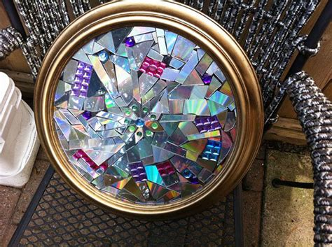 idees geniales pour recycler vos vieux cd  dvd