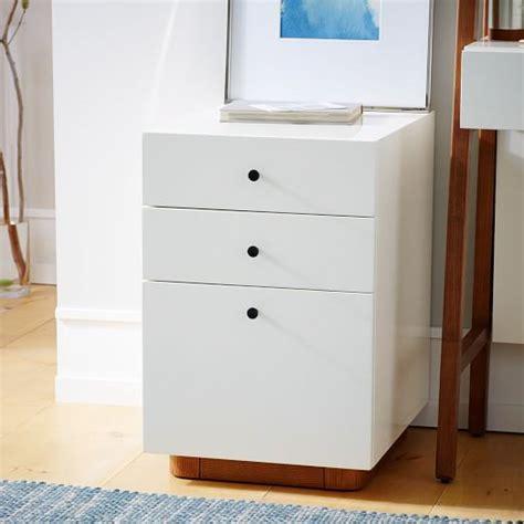 modern filing cabinet modern file cabinet west elm
