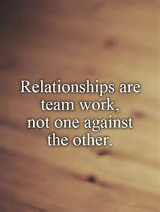 Relationship Quotes About Team