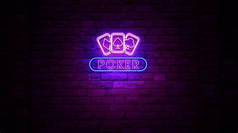 poker cards neon sign  ianm videohive