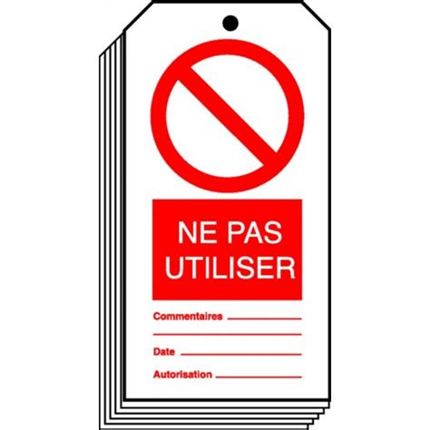 affiche ne pas utiliser stocksignes