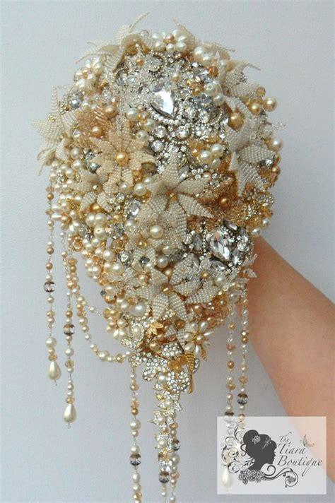 Vintage Inspired 1920s Hollywood Glamour Beaded Flower