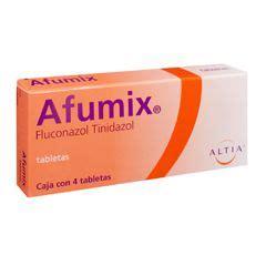 afumix   mg  tab fluconazol tinidazol  pz
