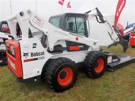 bobcat skid steer loader construction equipment pinterest