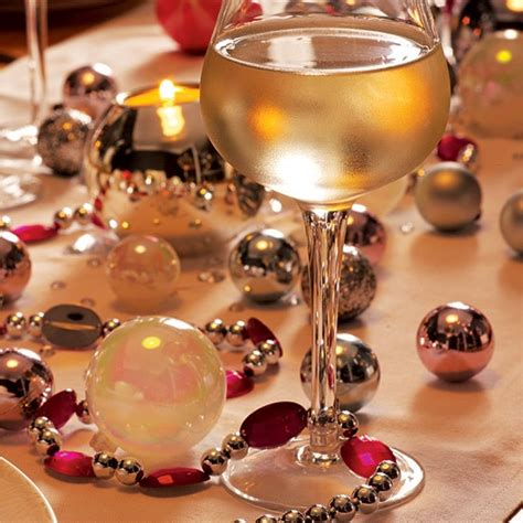 bauble table decorations use baubles as table decorations glamorous christmas dining room ideas housetohome co uk