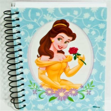 disney princess beauty   beast belle small spiral
