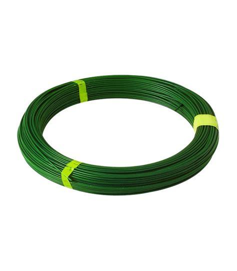 fil de tension vert plastifi 233 diam 232 tre 2 4 mm 100 m 232 tres