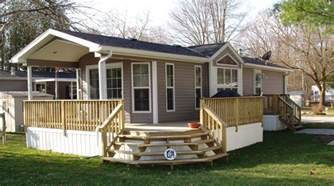 Mobile Home Deck Ideas Pictures by Mobile Home Deck Ideas Homecrack