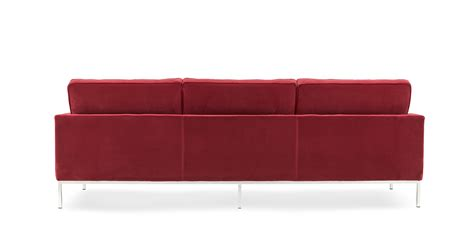 canape florence knoll florence knoll canapé trois places