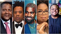 Full List of Top 15 Richest Black People in the Whole Planet