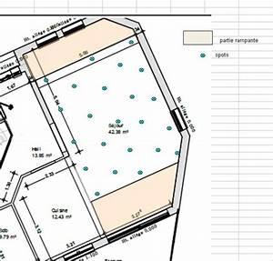 Repartition Spot Led Plafond : avis clairage spot plafond h 3 50 m 19 messages ~ Melissatoandfro.com Idées de Décoration